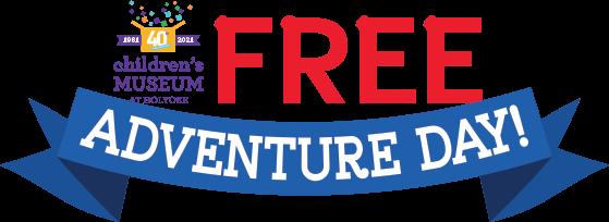 Free Adventure Day banner