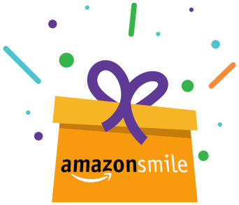 Present with Amazon Smile logo on it