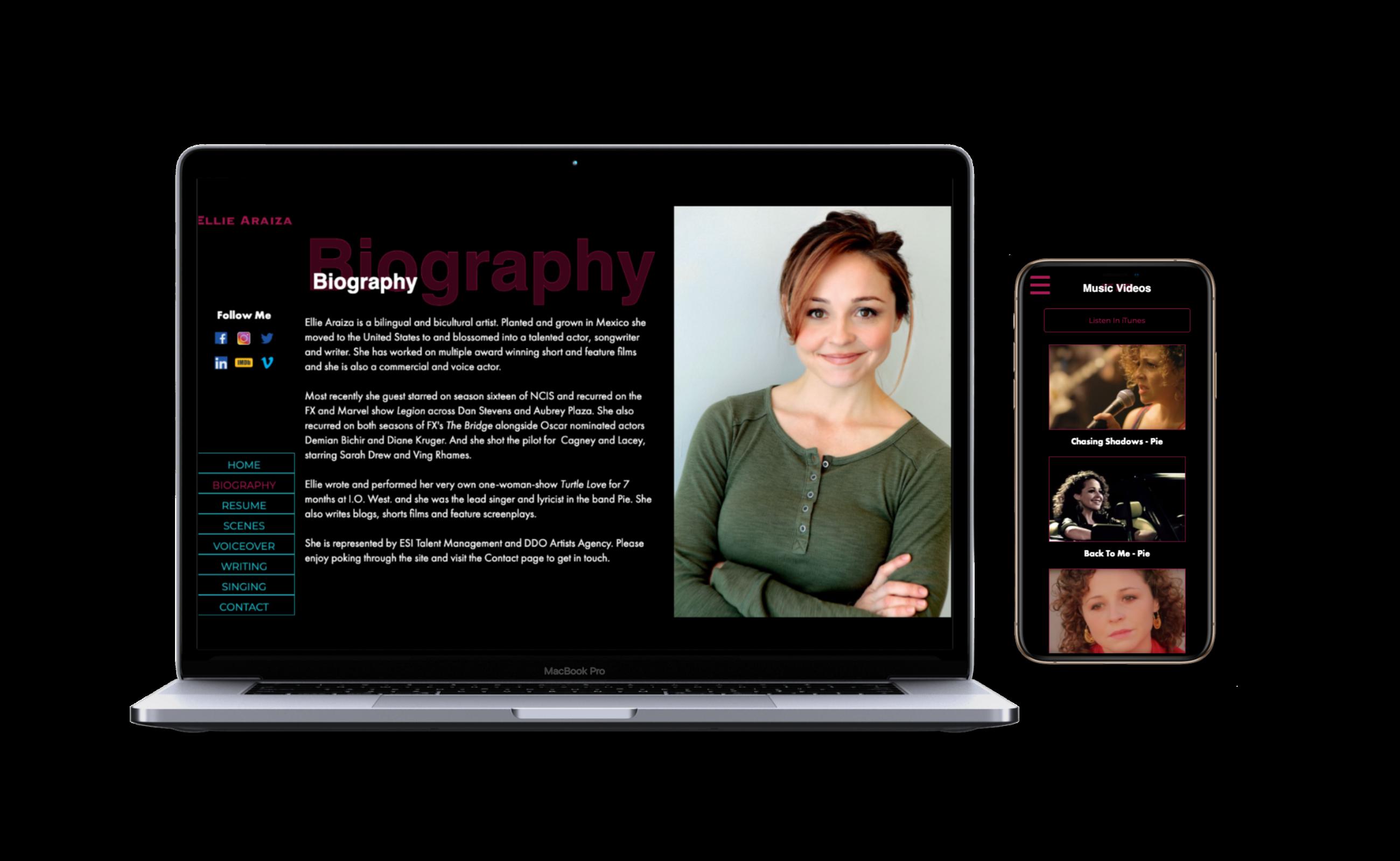 Devices With Ellie Araiza Website
