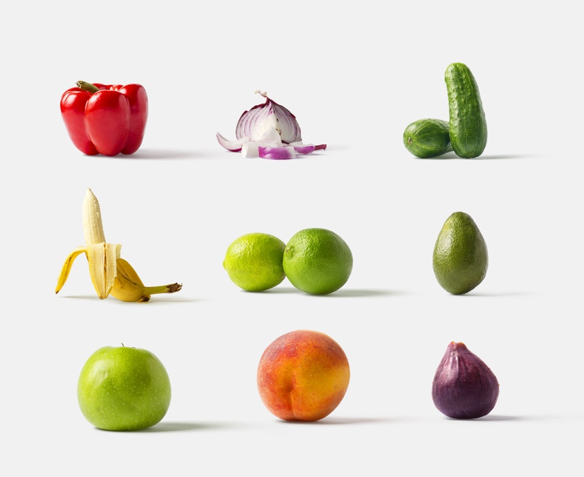 Fruits and vegetables for your mockups scenes    