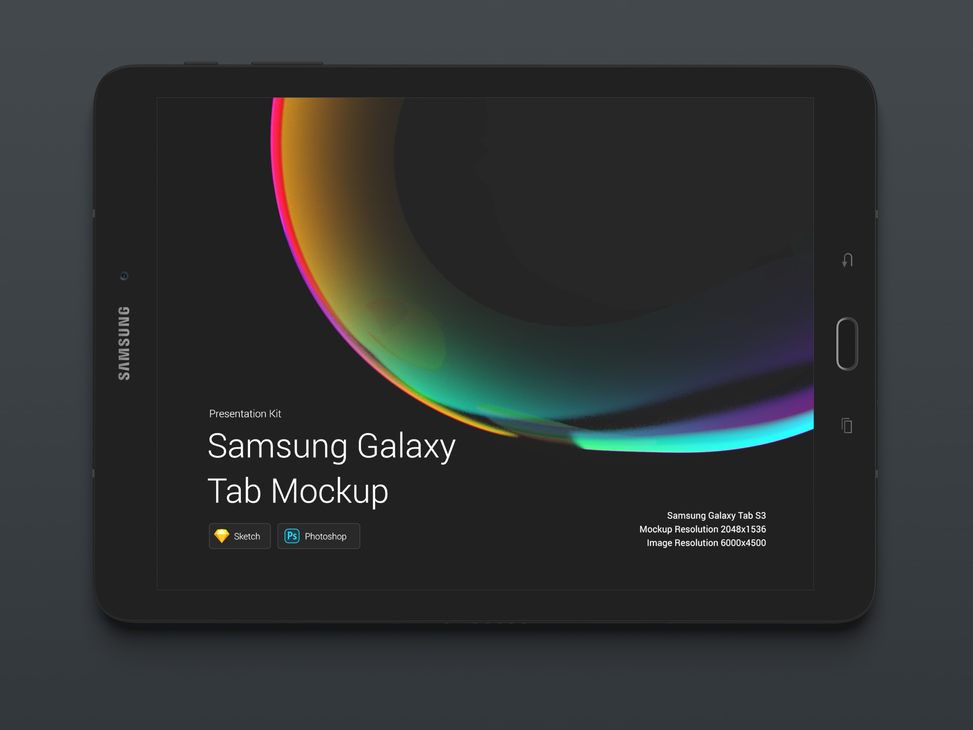 Download Samsung Galaxy S3 Mockups for Sketch and Photoshop