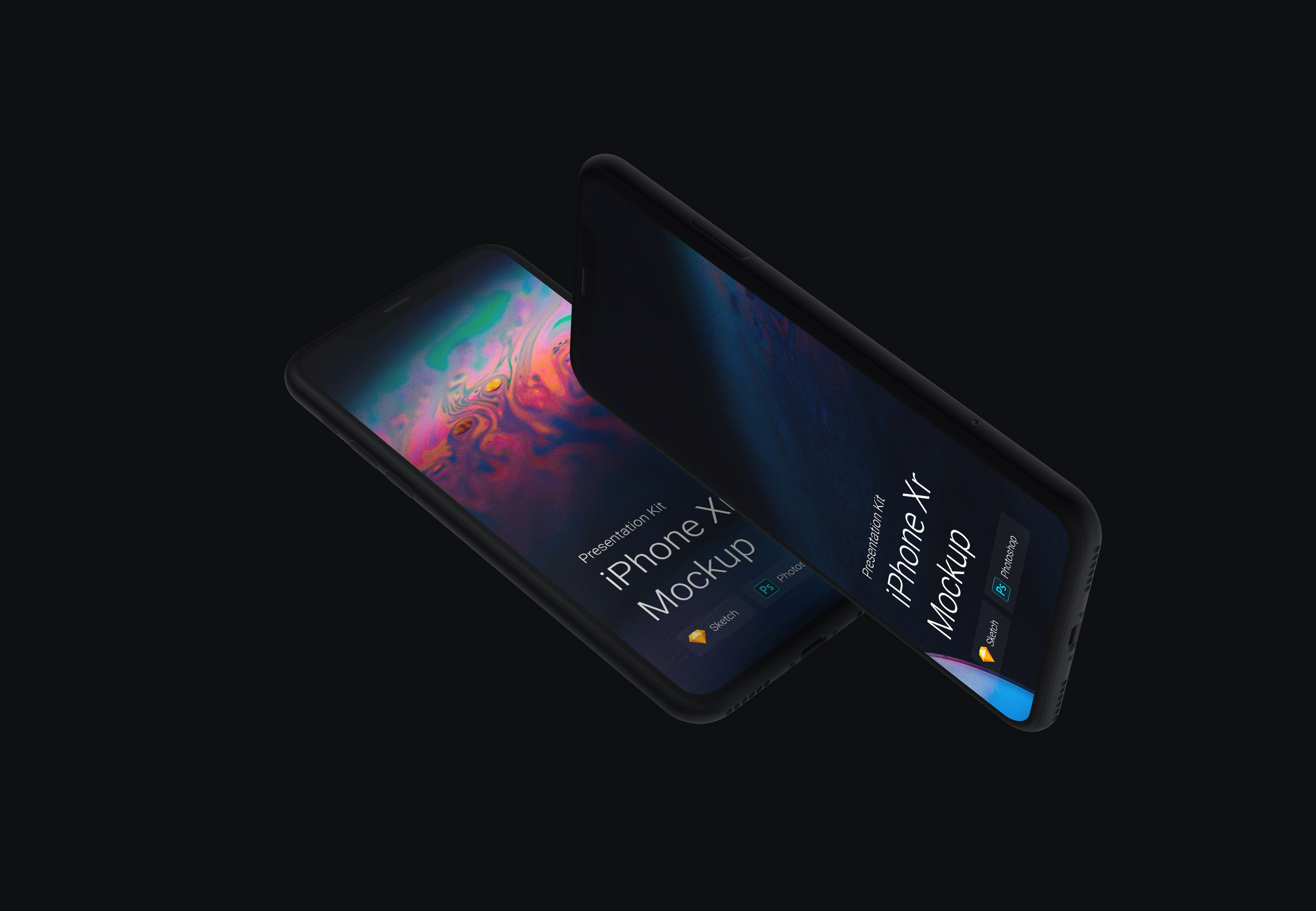 Download iPhone XR Mockups for Sketch and Photoshop