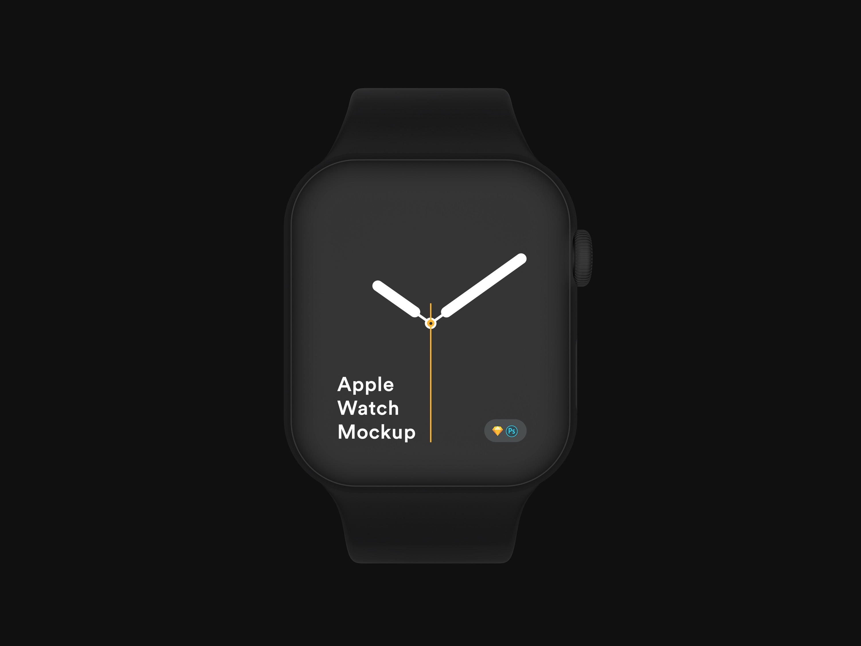 Download Apple Watch 4 Mockup for Sketch and Photoshop