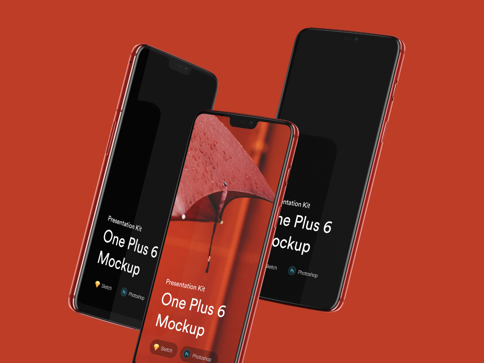 One Plus mockups. Beautiful mockup set with a lot features