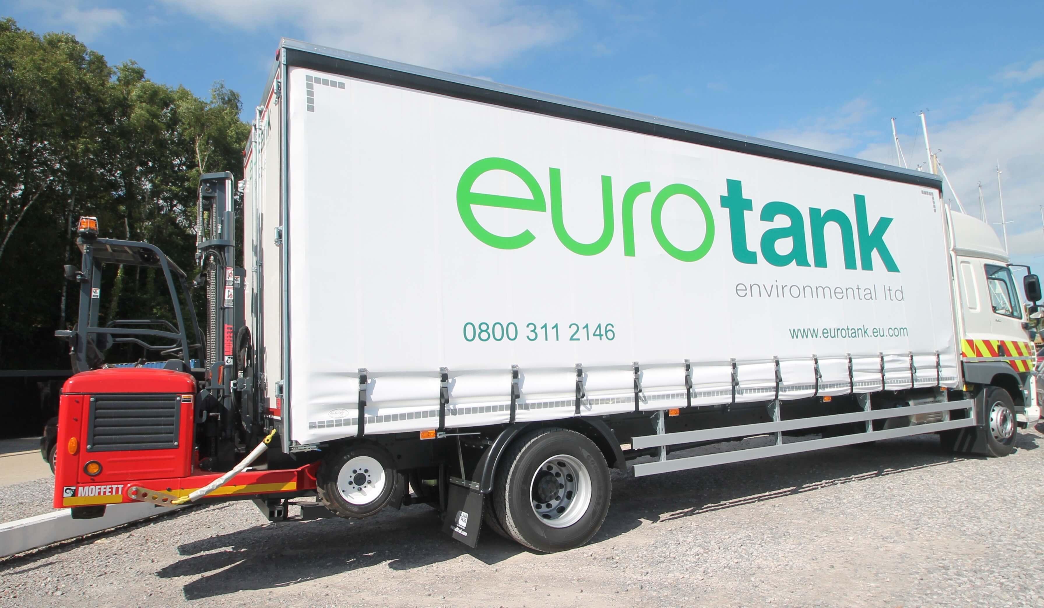 Eurotank DAF Truck