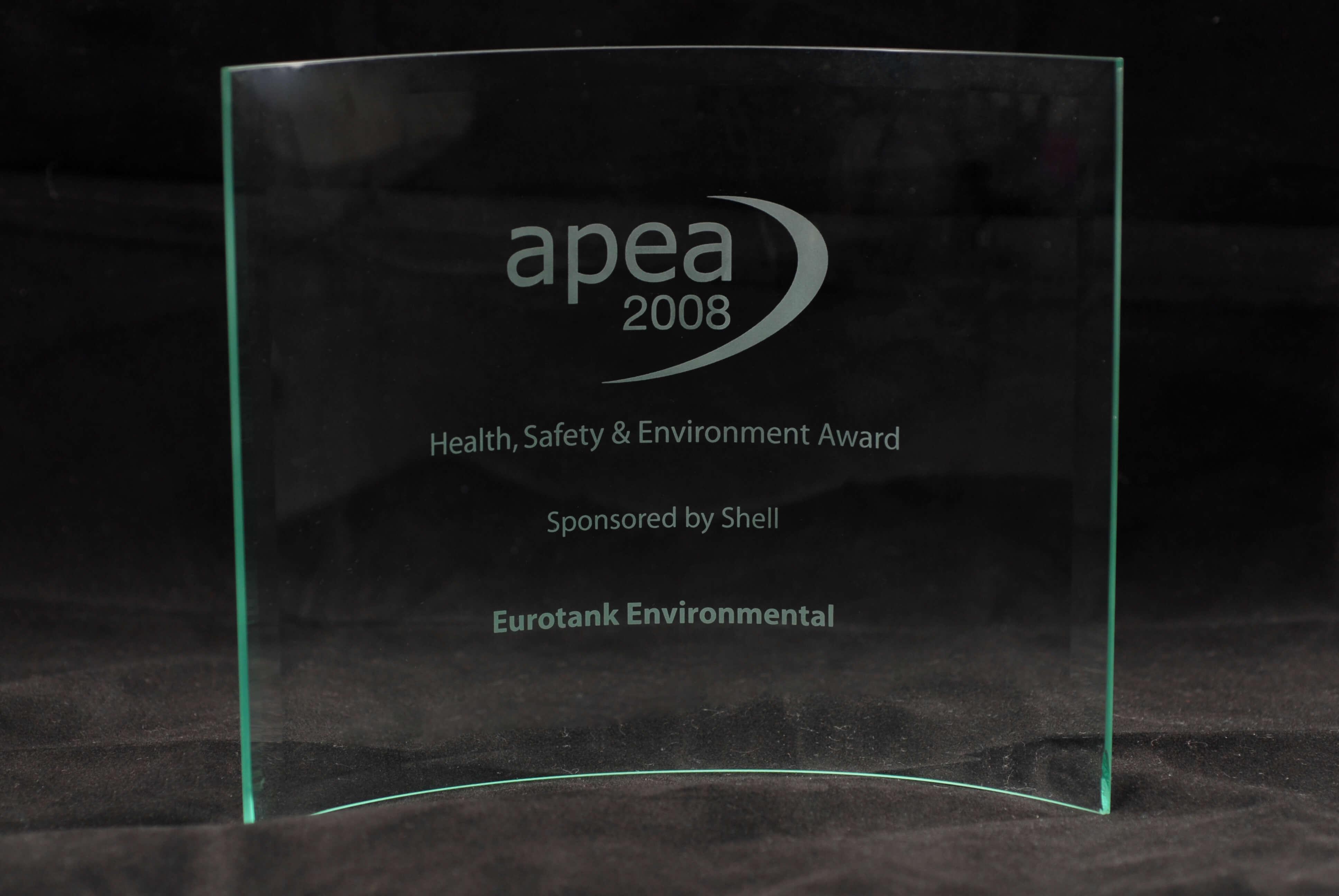 Shell sponsored HSE award