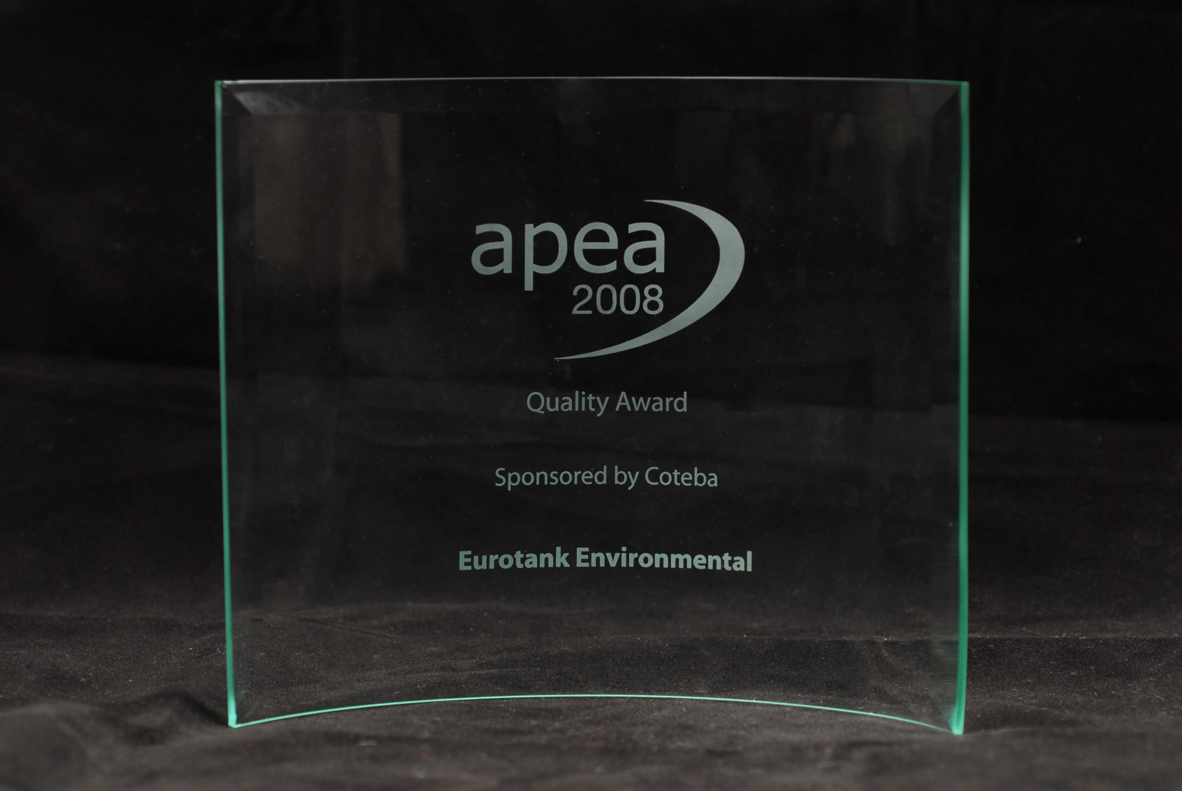 Quality Award by the APEA for our significant investment