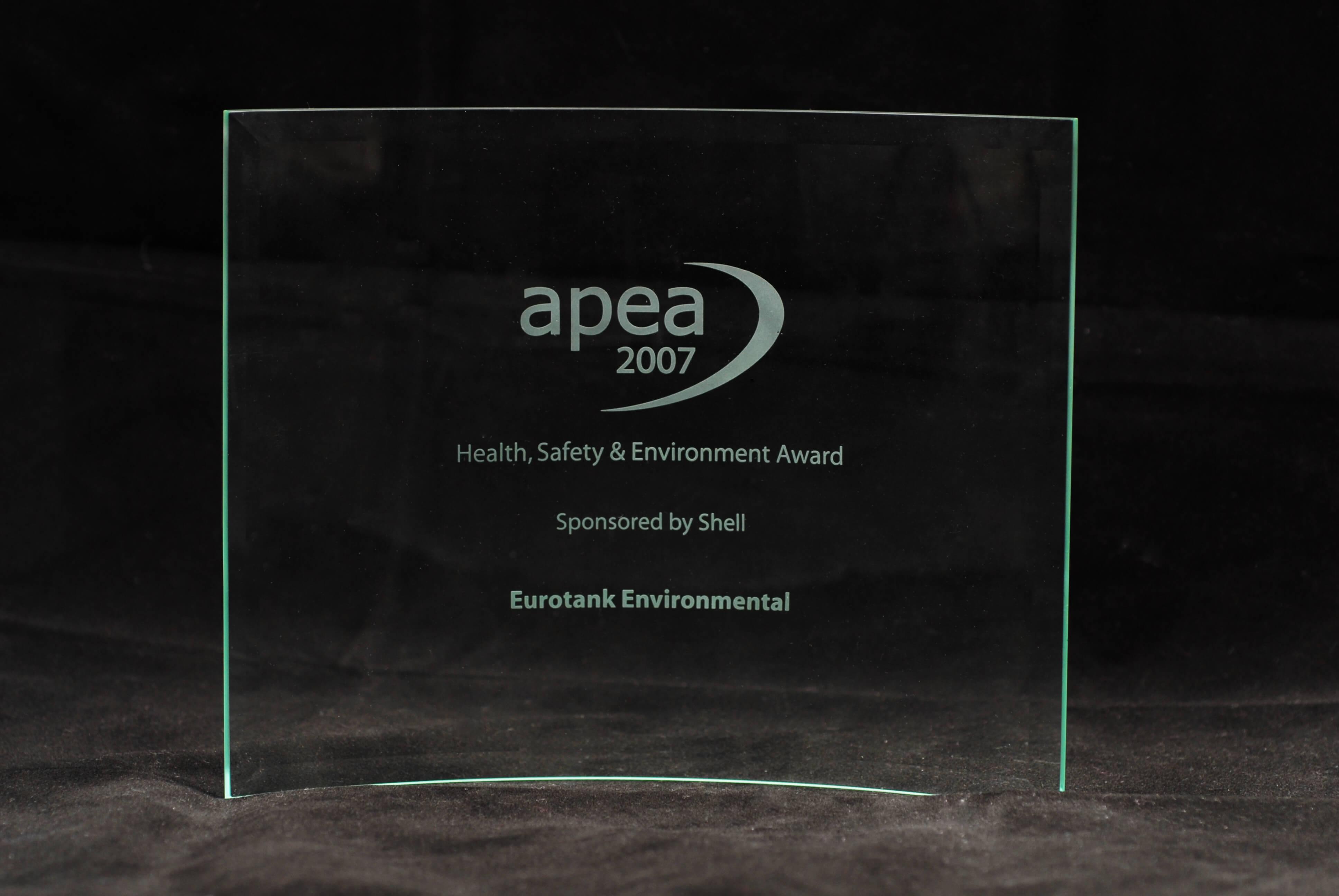 APEA Health & Safety Award