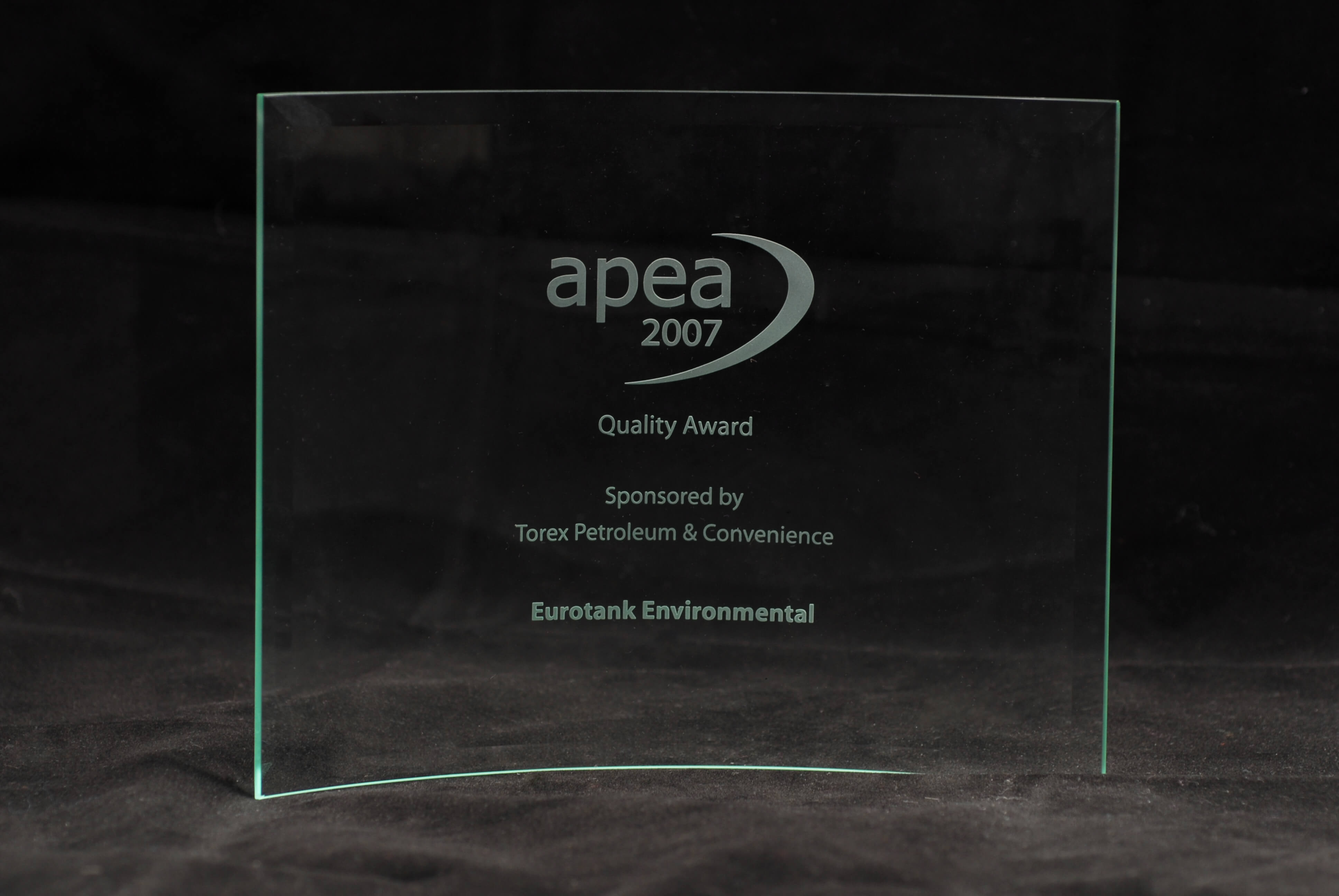 APEA Quality Award for the investment in IOSH Managing Safely training