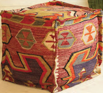 Kilim Pouffe from Nomad Ideas