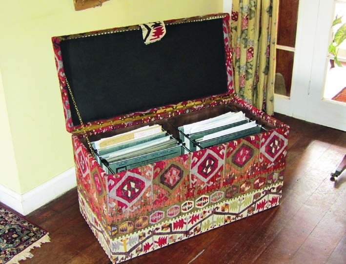 Nomad Ideas Kilim Double Filing Cabinet