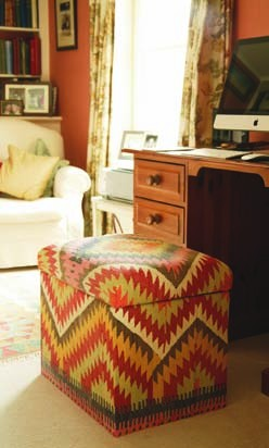 Nomad Ideas Kilim Small Filing Cabinet