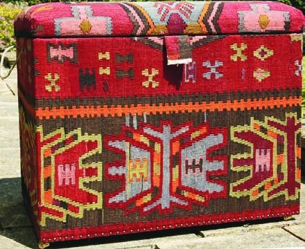 Nomad Ideas Kilim Log Boxes