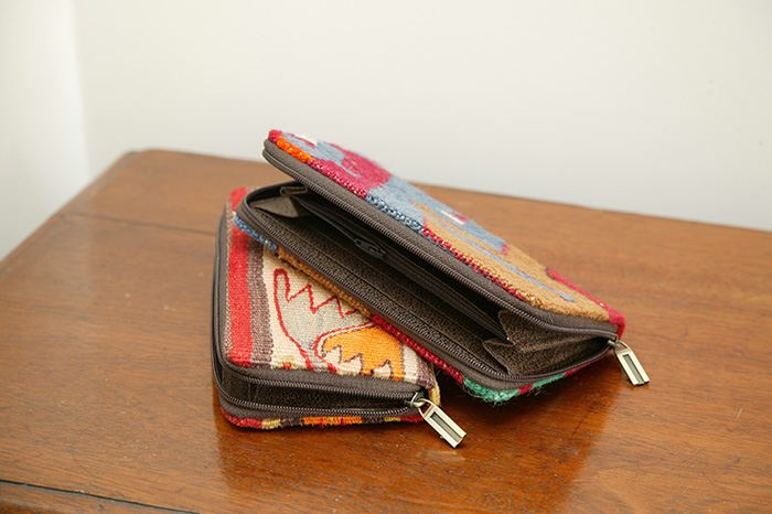 Nomad Ideas Kilim Zip Wallets