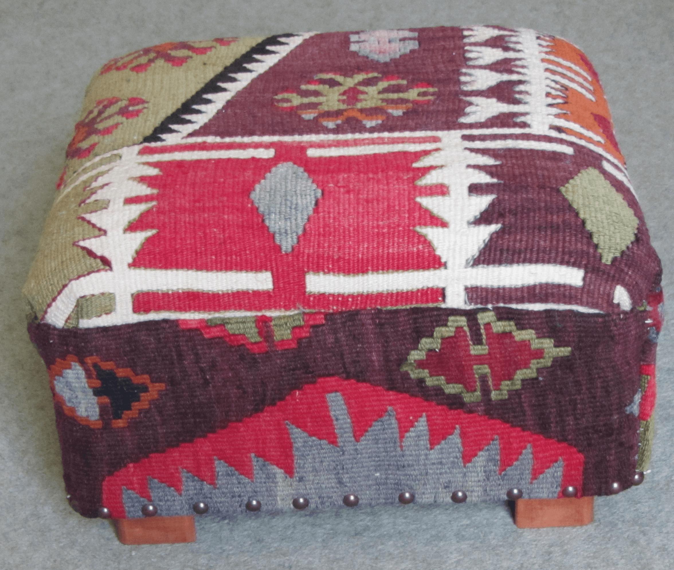 Nomad Ideas Kilim square Footstools