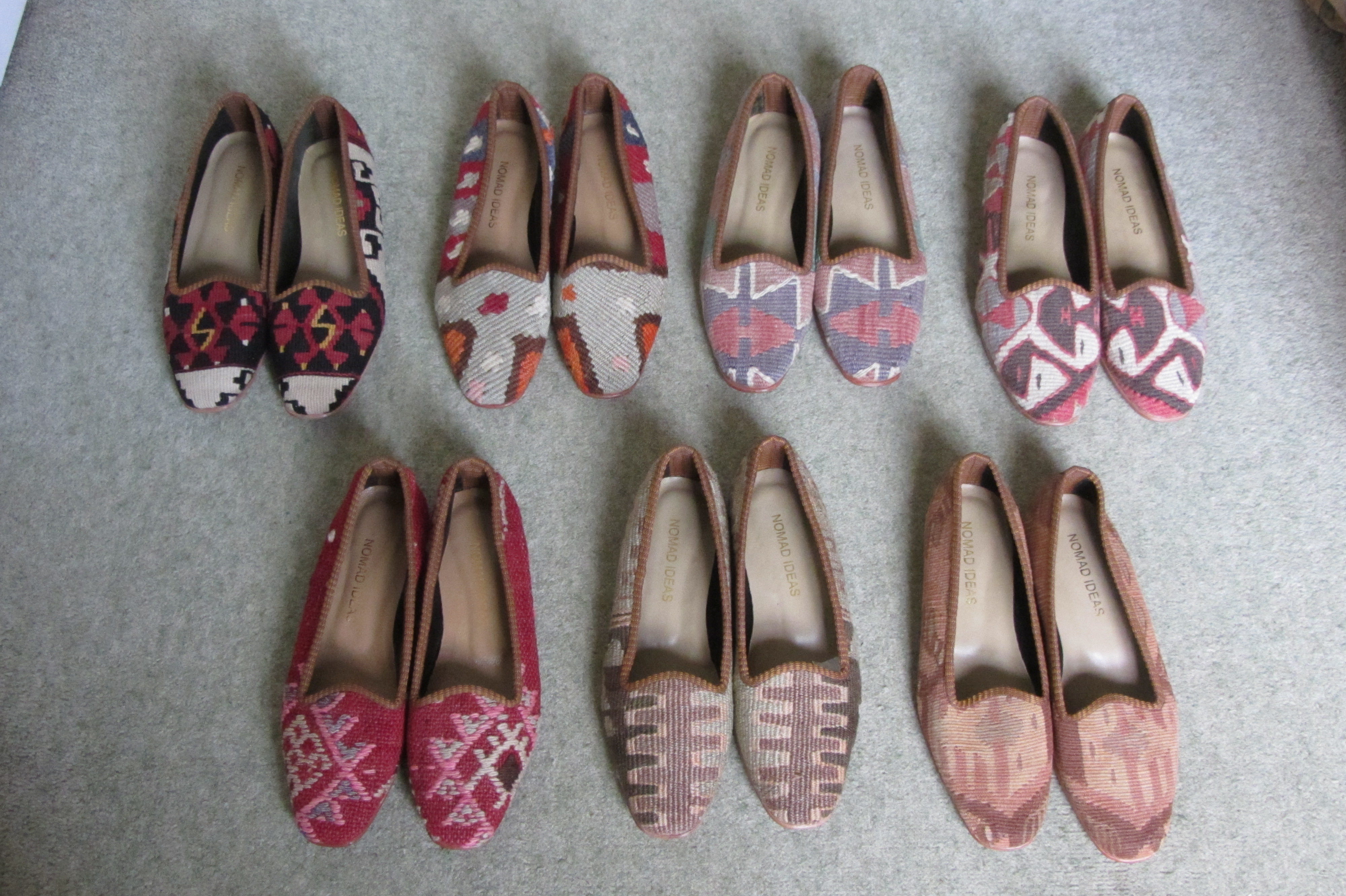 Kilim Shoes by Nomad Ideas