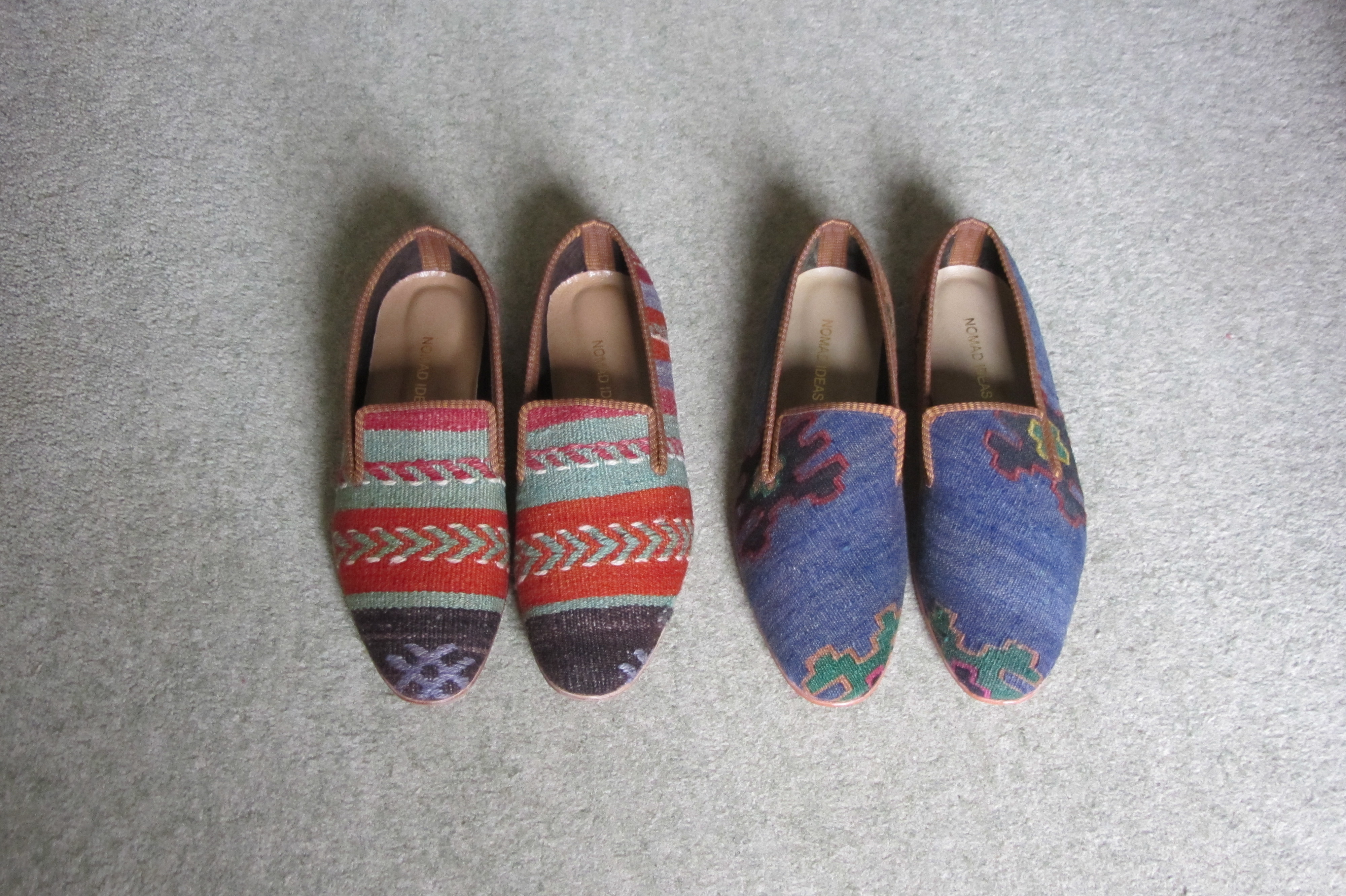 Kilim Shoes from Nomad Ideas