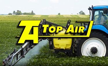 top air sprayers