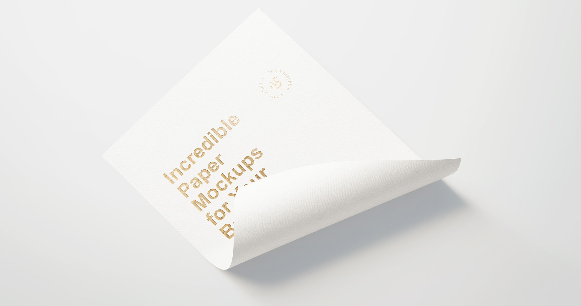 Paper Branding Mockup