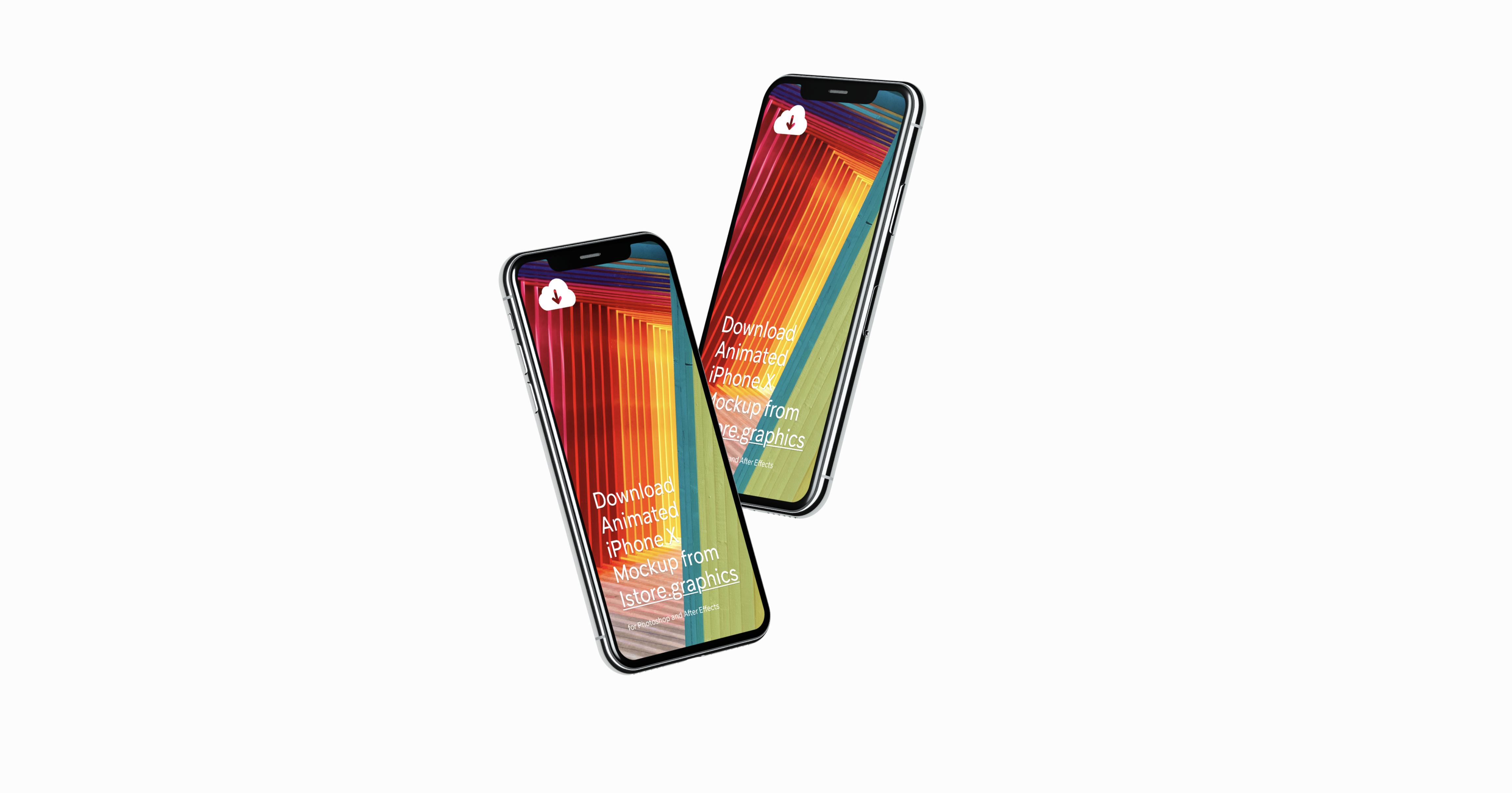 iPhone X Mockups 4k Resolution