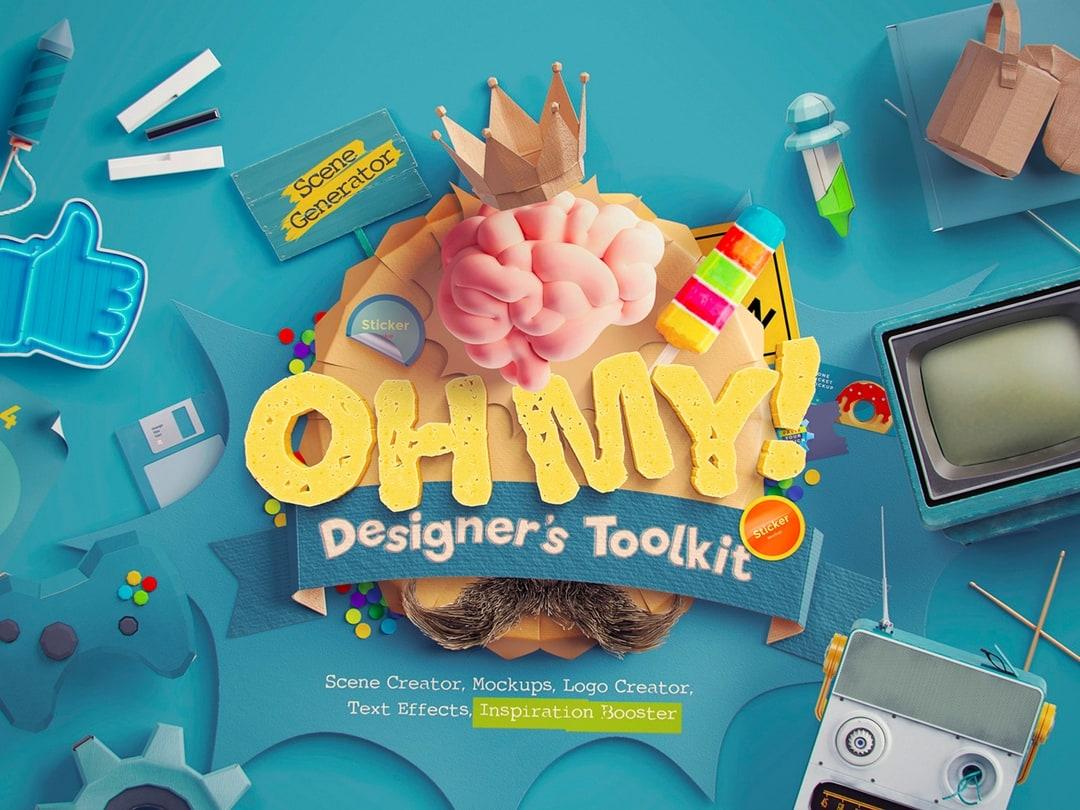 Scene Creator, Mockups, Logo Creator, Text Effects, Inspiration Booster
