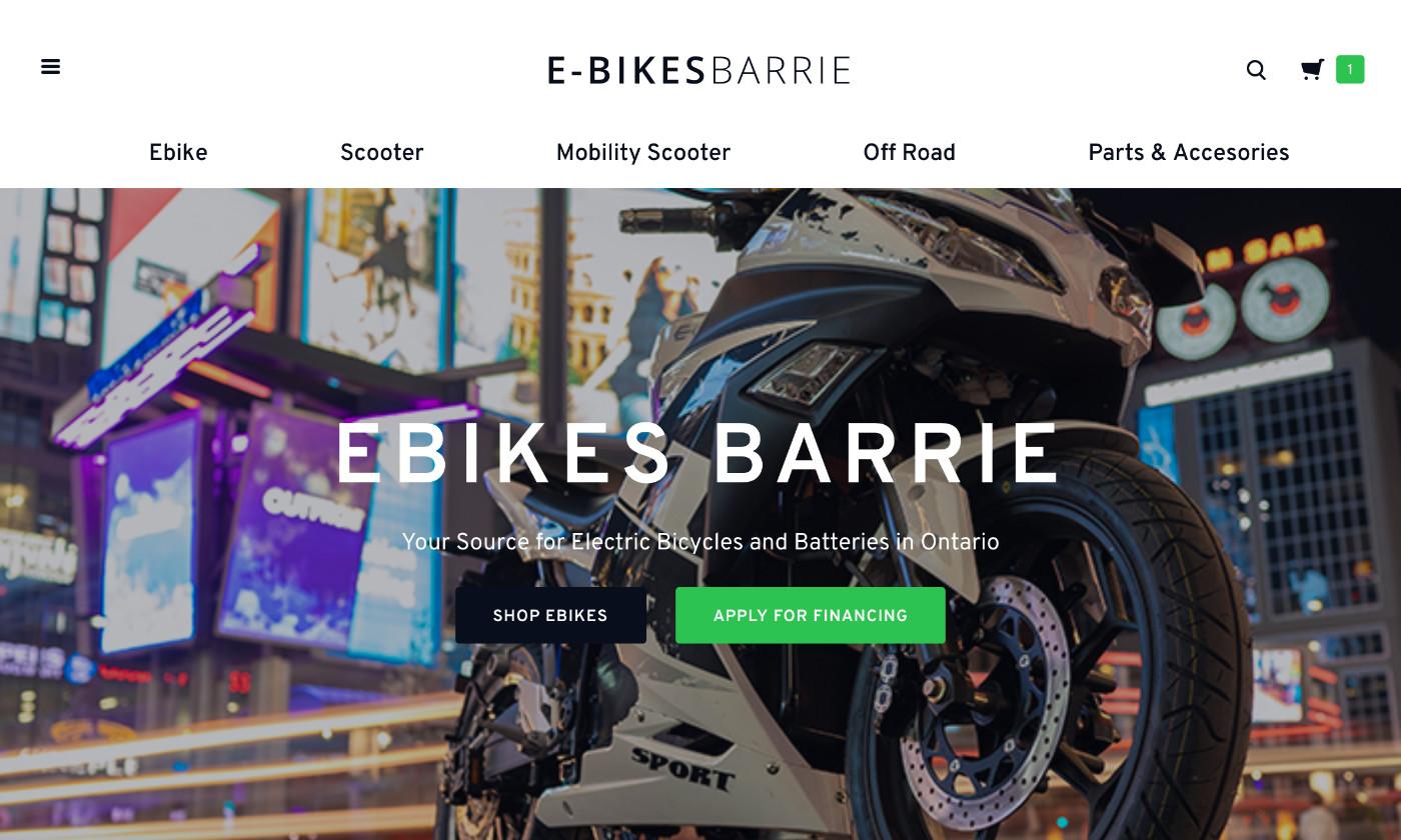 E-Bikes Barrie