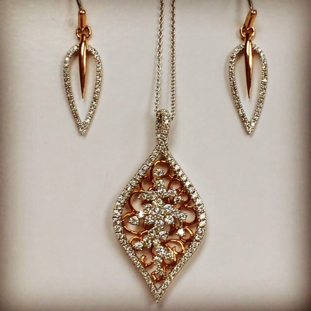 Lisa Kotchey Custom Jewelry Gold Necklaces