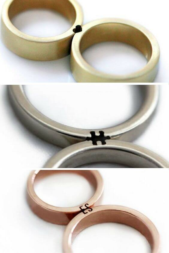 perfect match wedding bands custom jewelry