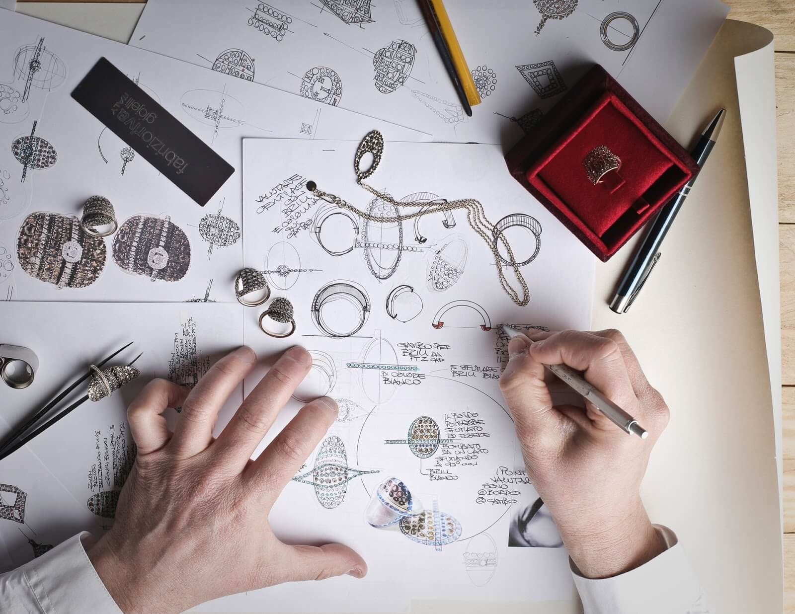 Planning jewlery design