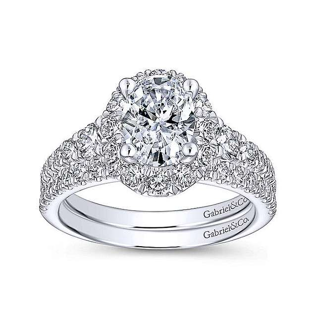 Image result for oval cut diamond""