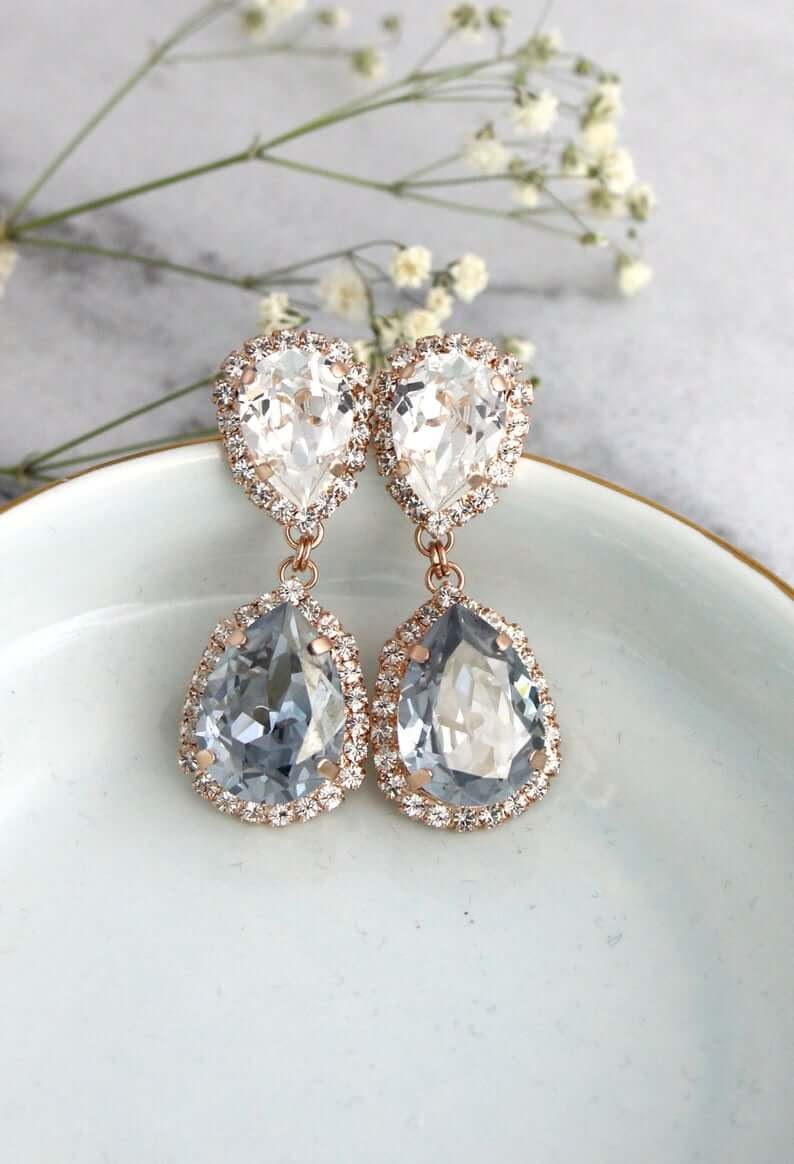 Penedant wedding earrings