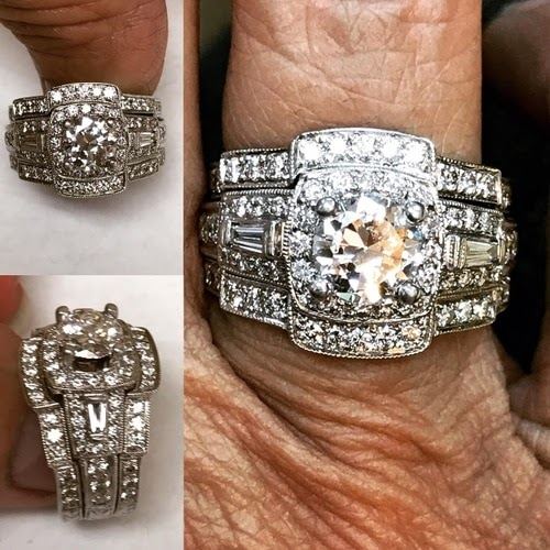 bold and flashy engagement ring