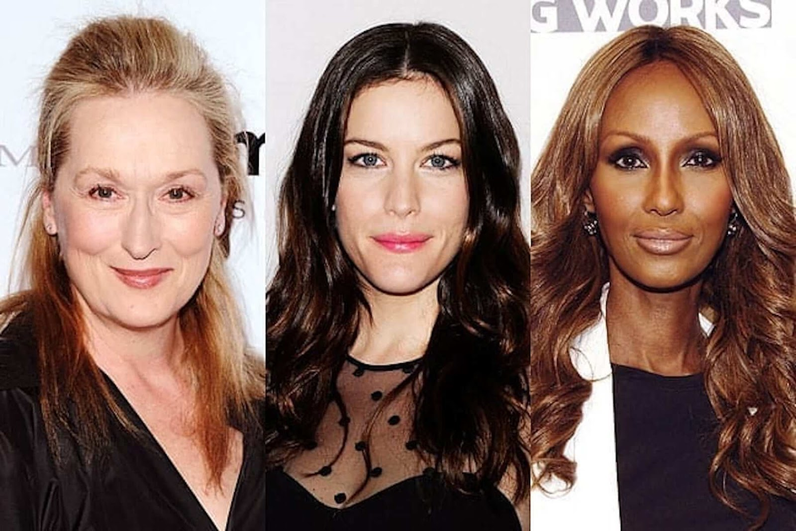 celebrities with narrow face shape
