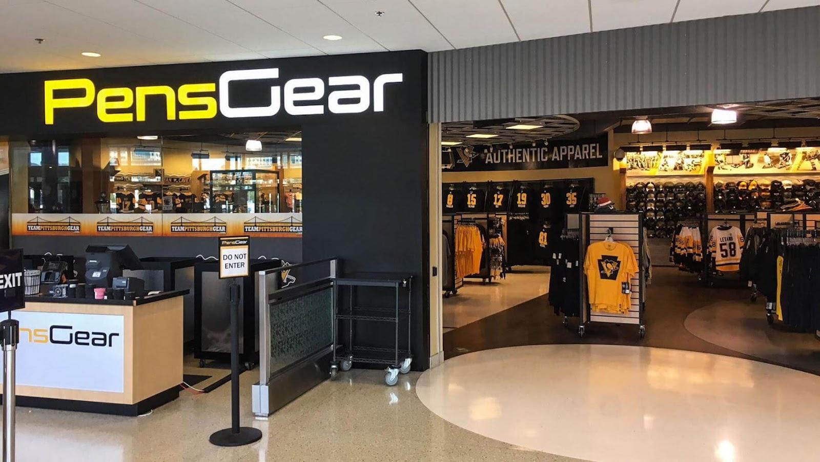 Pens Gear storefront