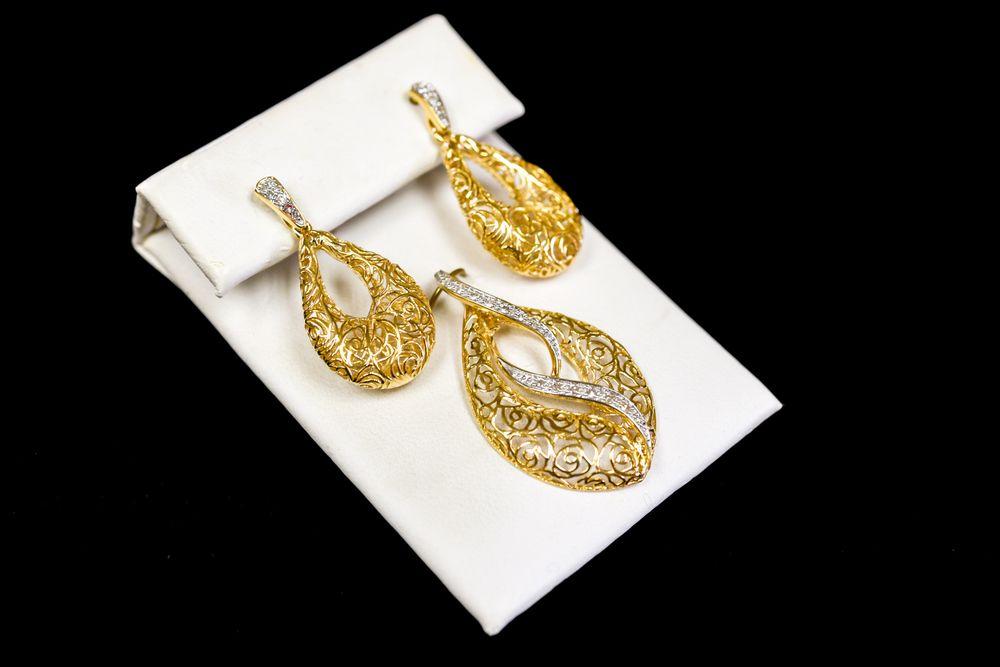 Earrings of Lisa Marie Kotchey Design