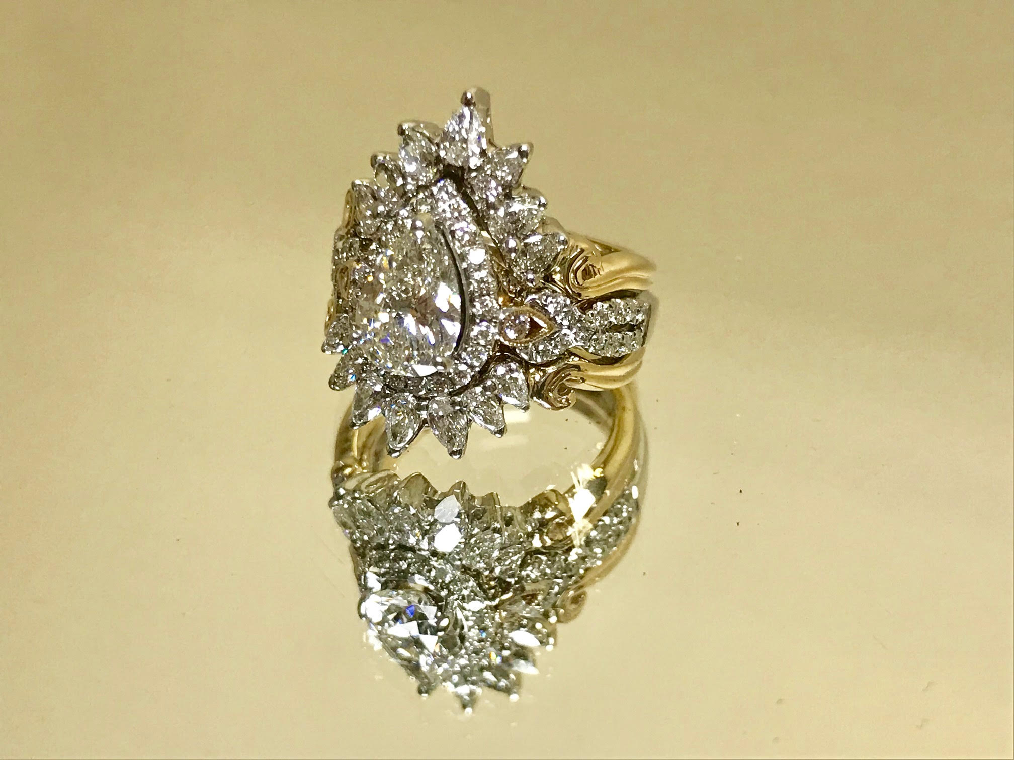 Wedding ring of Lisa Marie Kotchey Design