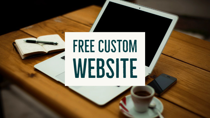 Win a Free Custom Designed Website