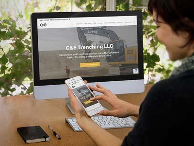 Excavation Contractor Website Design
