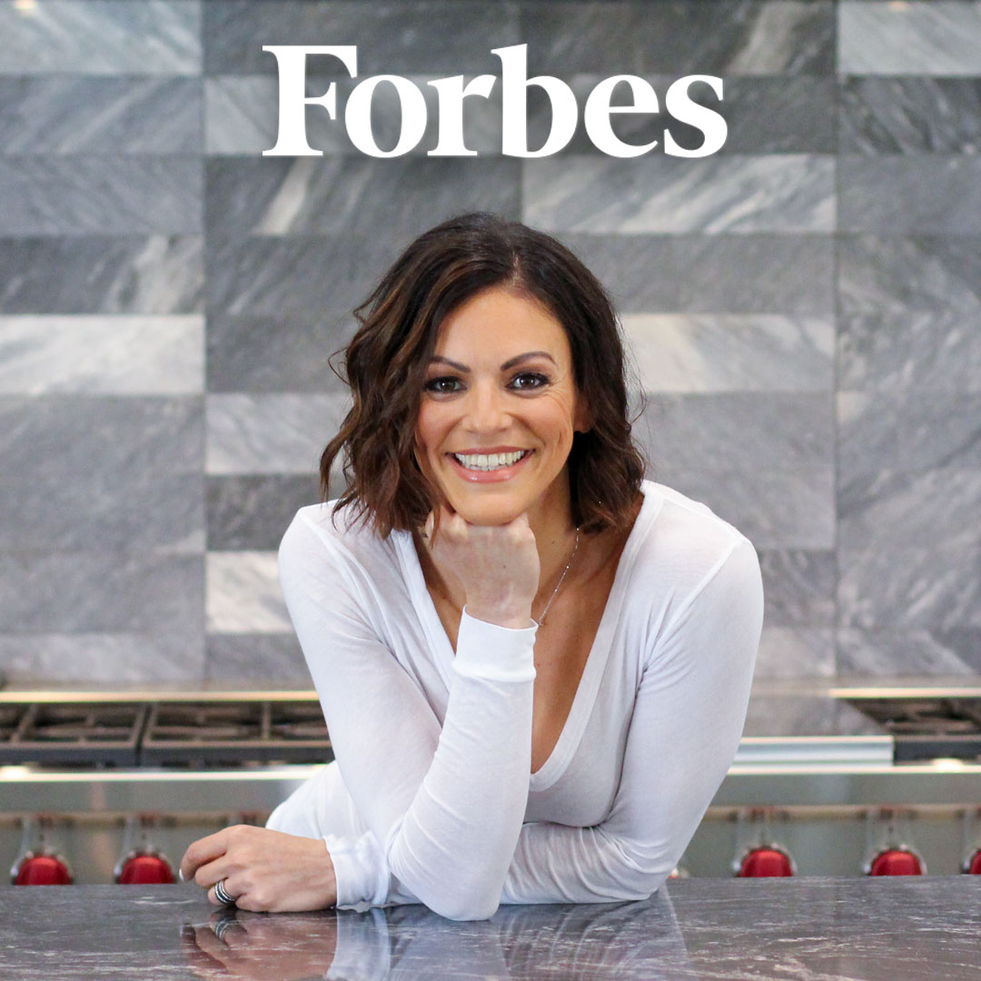 "Screenshot of Forbes article titled ""How This Math Teacher Turned Her Life Around Through Entrepreneurship"""