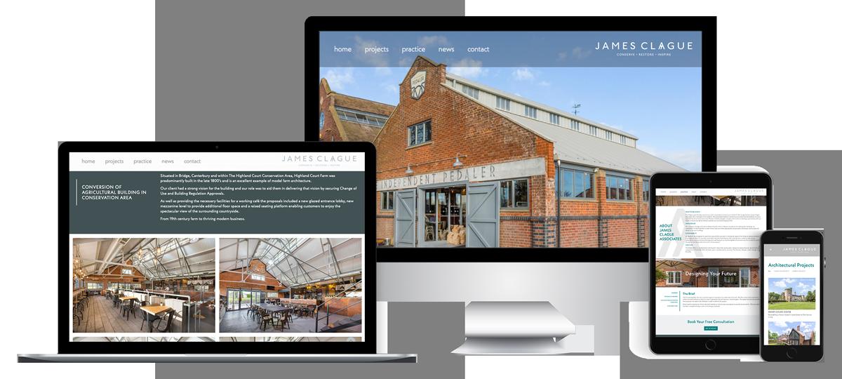 Architectural Web Design