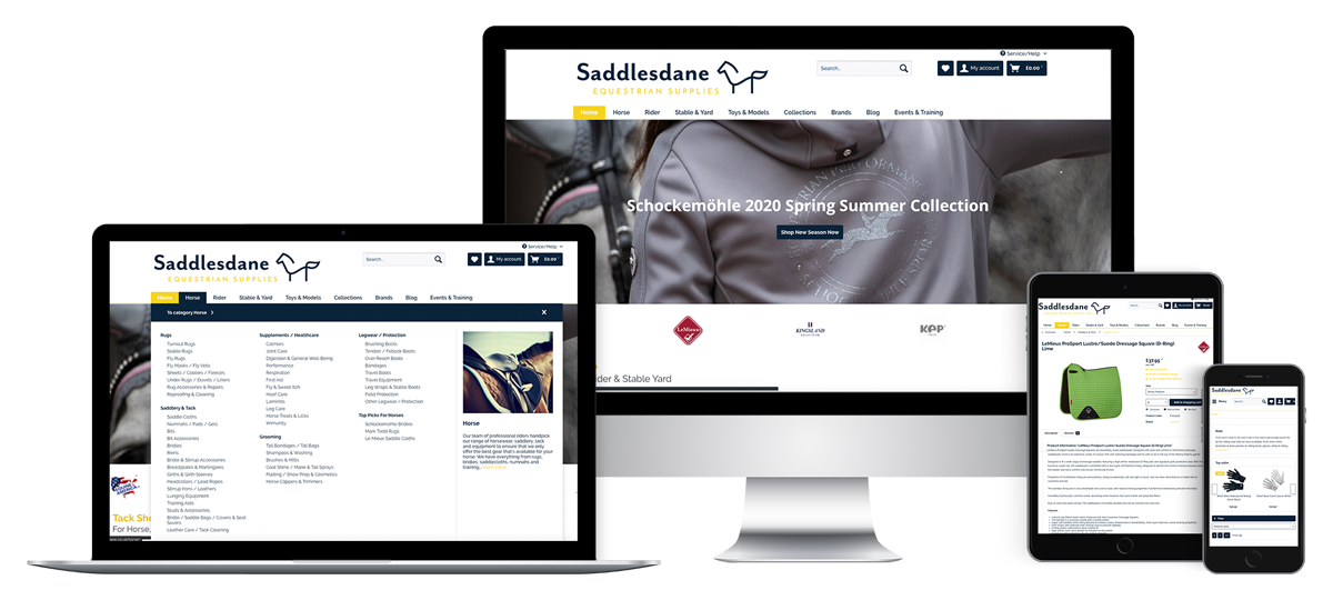 Equestrian E-commerce