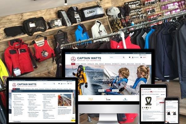 Launching into e-commerce