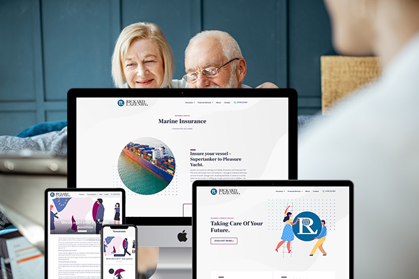 Branding & Website for Insurance & Financial Firm