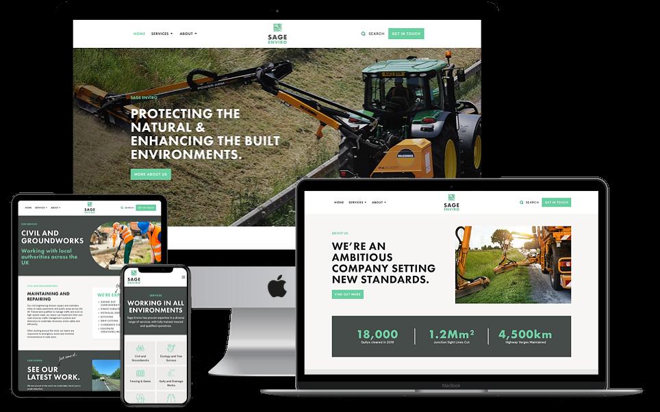 Emerging Business Brand & Website