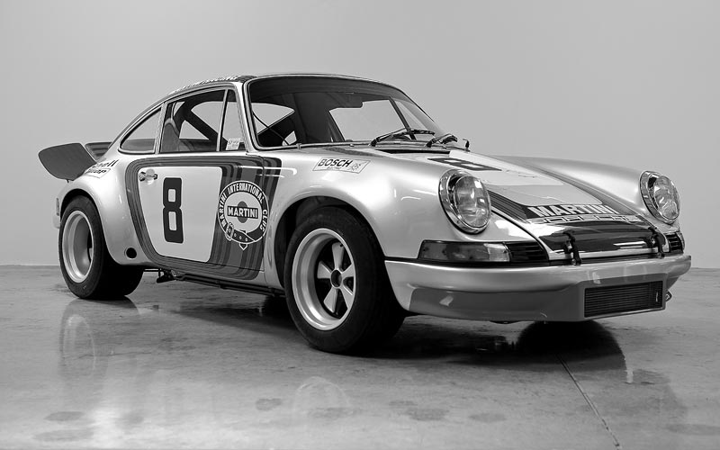 Maxted-Page recently completed Porsche