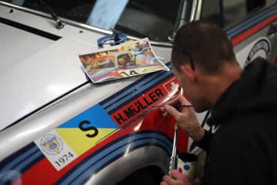 1974 Martini Racing Porsche 2.1 Carrera RSR Turbo (R13) - Maxted-Page 02