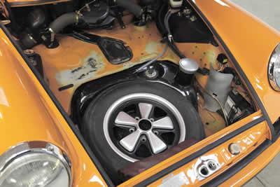 1971 Porsche 2.2 ST rally car- COI 6 - RHD - Maxted-Page - 13