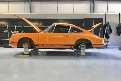 1971 Porsche 2.2 ST rally car- COI 6 - RHD - Maxted-Page - 19