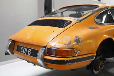 1971 Porsche 2.2 ST rally car- COI 6 - RHD - Maxted-Page - 31