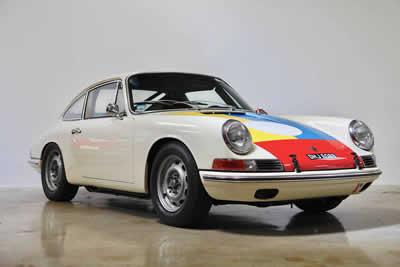 1964 Porsche 901 / 911 Coupe - 300 161  Maxted-Page Classic & Historic Porsche 02
